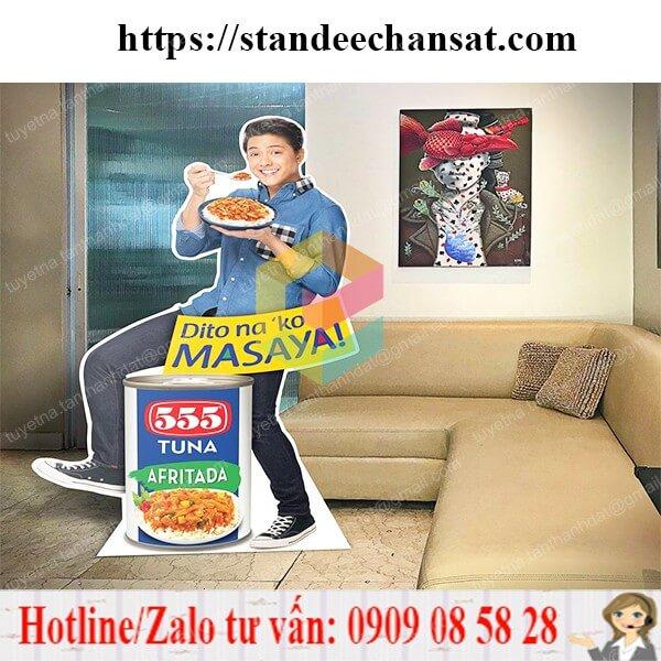 standee mo hinh san pham hcm