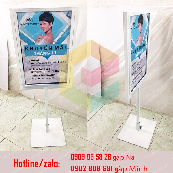 standee sat gia re