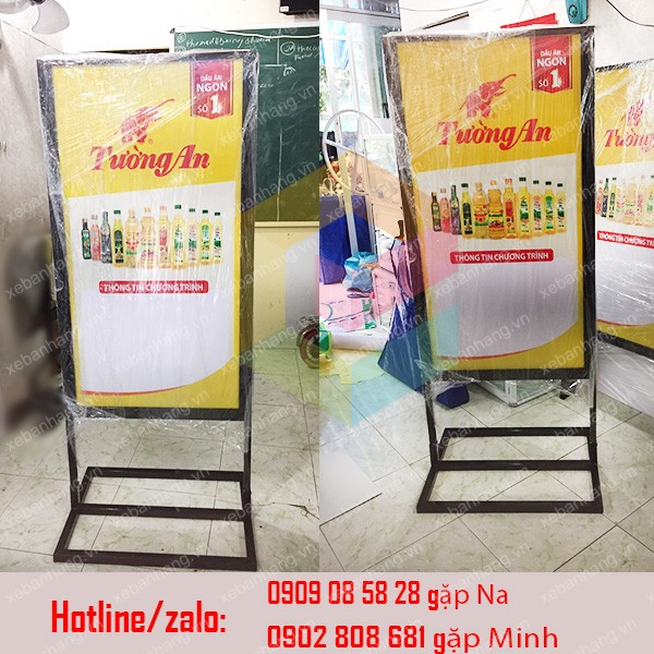 standee khung sat quang cao