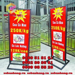 standee khung sat quan 8